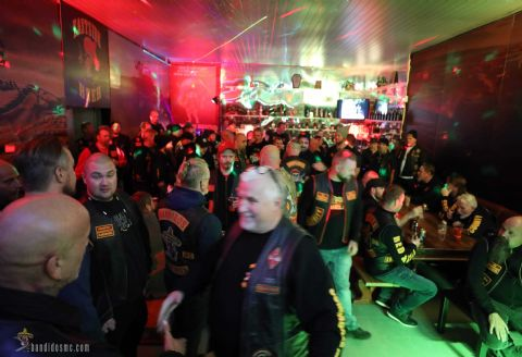 Five years have past since Compadres MC Norway opened in 2014. Saturday 19th October 2019 they celebrated their first five years in the Red & Gold Nation. Members of Bandidos MC and RGF (Red and Gold Family) clubs travelled to attend the event held at Bandidos MC Fredrikstad's and Compadres MC Fredrikstad's clubhouse.